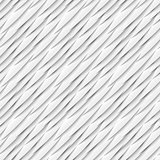 Seamless pattern of white paper elements with drop shadows