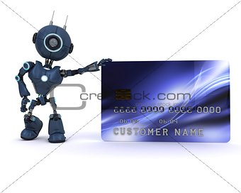 Android with credit card