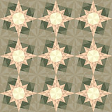 vector seamless set geometric pattern