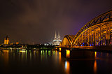 Cologne at night