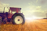 Tractor and the Sun