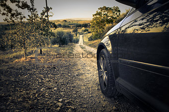 Car in the Countryside