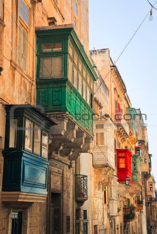 Bow Window in Malta