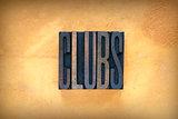 Clubs Letterpress