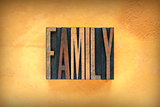 Family Letterpress