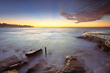 Sunrise at Bronte Beach Australia