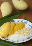 Mango sticky rice#1