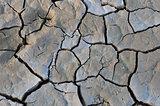 Cracked mud at Sossusvlei, Namibia