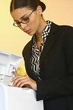using Xerox machinel