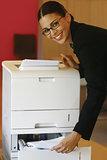 using Xerox machine