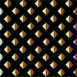 Background with golden squares