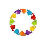 Circular design element