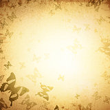 Butterfly Vintage Background