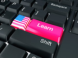 United States Learn. Education concept