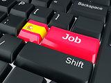 spain Job Concept