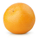 Mandarin Orange fruit (Tangerine) isolated on white