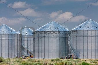 agriculture storage silos