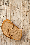 slices of rye bread