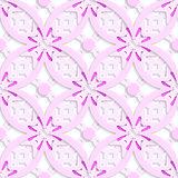 Pink complicated layered seamless