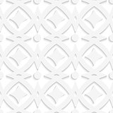 White rhombuses and white ornament