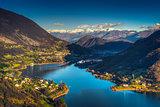Endine lake Italian