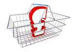 Sale Pound Basket Illustration