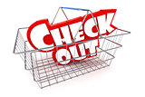 Checkout Basket Illustration