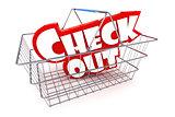 Checkout Basket Illustration