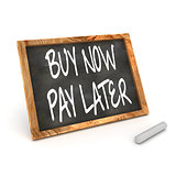 Buy Now Pay Latter Blackboard