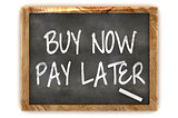 Buy Now Pay Later Blackboard