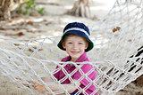 kid in hammock