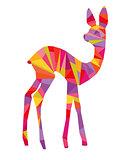 colorful bambi