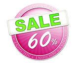 sale button 60%