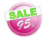 sale button 95%
