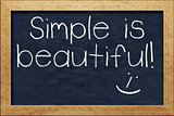 chalkboard simple is beautiful