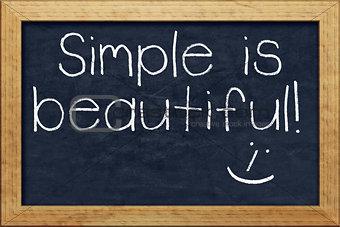 chalkboard simple is beautiful