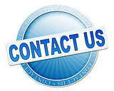 contact us button blue