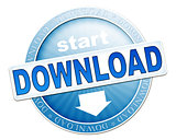 download button blue