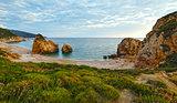 Potistika beach sunrise view (Greece)