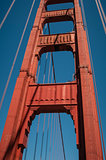 Pillar Golden Gate Bridge
