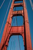 Pillar Golden Gate Bridge