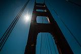 Golden gate bridge pier