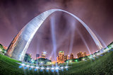 St Louis Missouri city skyline