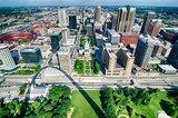 St Louis Missouri city skyline