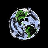 Earth Sketch 003