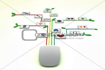 modern mouse connections