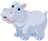 Mischievous hippo