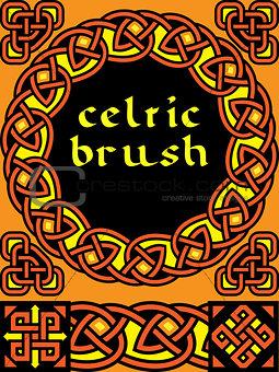 celtic brush for  frame