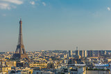 Eiffel Tower Paris skyline France