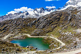 lake Huaraz National Park Huascaran Andes Peru